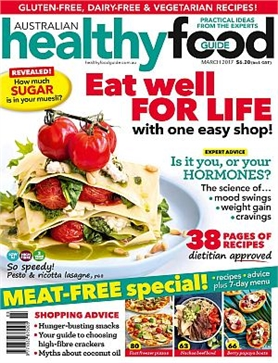 March 2017 healthy food guide back issues my magazines march 2017 healthy food guide back issues my magazines subscribe online and save forumfinder Choice Image