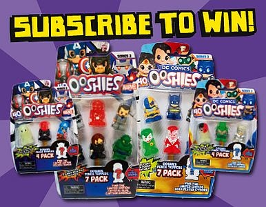 Subscribe NOW & you could WIN an OOSHIES PRIZE PACK!