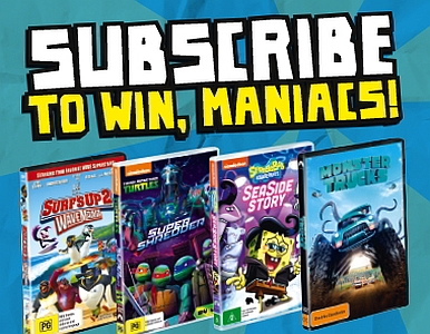 Subscribe NOW & you could WIN a HUGE DVD PRIZE PACK!