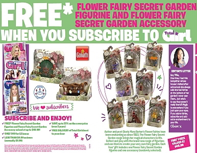 SUBSCRIBE NOW & RECEIVE A FREE FLOWER SECRET PRIZE GIVEAWAY!