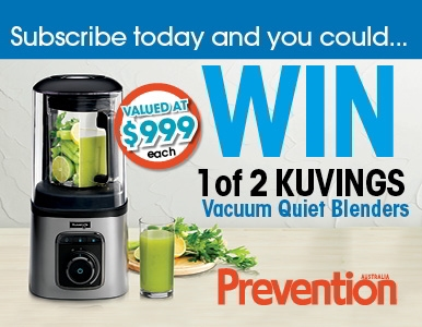 SUBSCRIBE NOW FOR YOUR CHANCE TO WIN A KUVINGS VACUUM QUIET BLENDER!