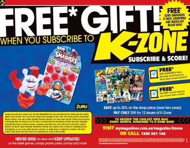 SUBSCRIBE NOW & GET A FREE ZURU, 5SURPRISE & MAKA TOY PRIZE PACK!