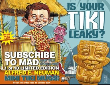 SUBSCRIBE NOW FOR YOUR CHANCE TO WIN 1 OF 10 MINI TIKI MUGS!