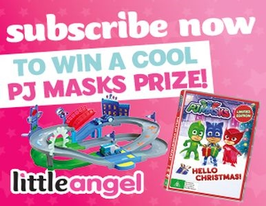 SUBSCRIBE FOR YOUR CHANCE TO WIN A PJ MASKS PRIZE PACK!