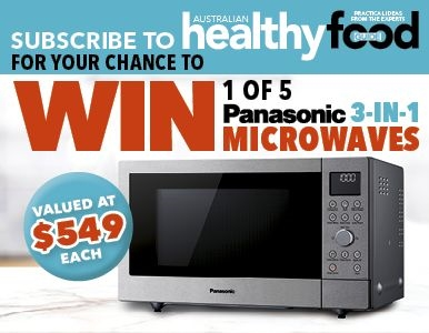 SUBSCRIBE FOR YOUR CHANCE TO WIN 1 OF 5 PANASONIC MICROWAVES!