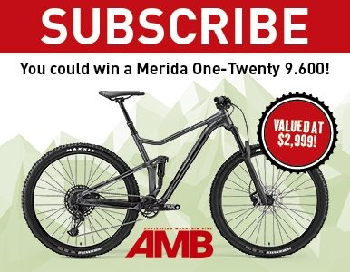 SUBSCRIBE FOR YOUR CHANCE TO WIN A BRAND NEW MERIDA ONE-TWENTY 9.600