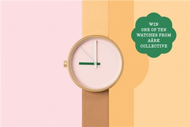 win one of ten watches from aark collective