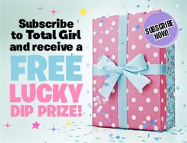 SUBSCRIBE AND RECEIVE A FREE LUCKY DIP PRIZE!