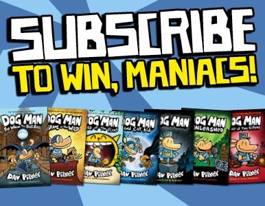 SUBSCRIBE FOR YOUR CHANCE TO WIN A DOG MAN PRIZE PACK!