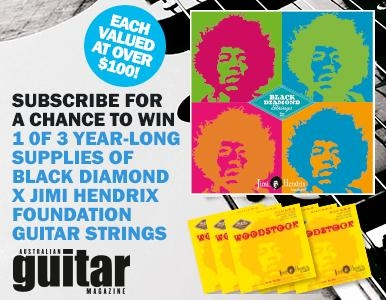 SUBSCRIBE TODAY FOR YOUR CHANCE TO WIN A YEAR LONG SUPPLY OF STRINGS
