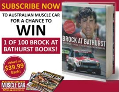 SUBSCRIBE FOR YOUR CHANCE TO WIN 1 OF 100 BROCK AT BATHURST BOOKS!