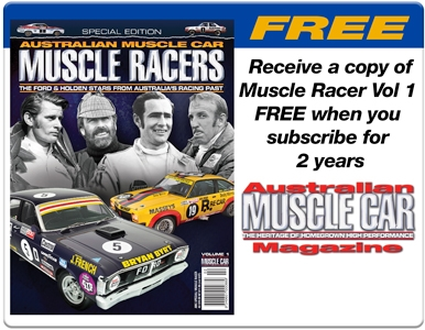 SUBSCRIBE FOR 2 YEARS AND RECEIVE A FREE MUSCLE CAR RACERS VOL 1!