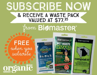 SUBSCRIBE AND RECEIVE A FREE WASTE PACK FROM BIOMASTER!