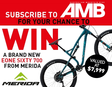 SUBSCRIBE FOR YOUR CHANCE TO WIN A NEW eONE SIXTY 700 FROM MERIDA!