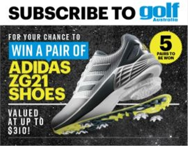 SUBSCRIBE FOR YOUR CHANCE TO WIN A PAIR OF ADIDAS ZG21 SHOES!