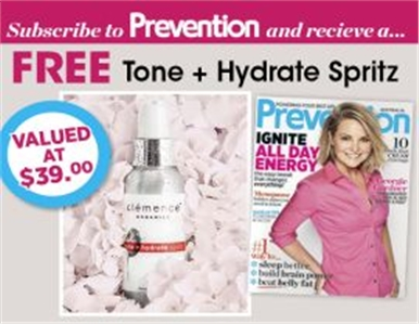 SUBSCRIBE AND RECEIVE A FREE TONE + HYDRATE SPRITZ!