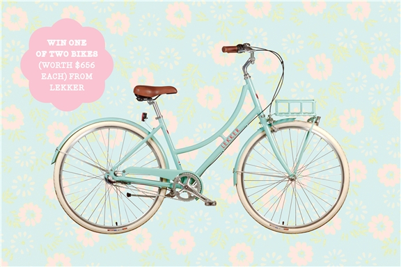 subscribe for your chance to win 1 of 2 bikes from lekker bikes!