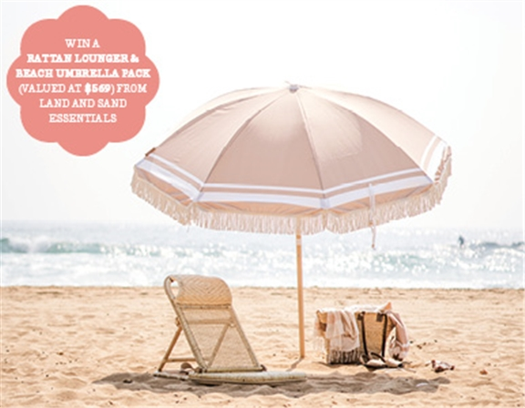 SUBSCRIBE FOR YOUR CHANCE TO WIN A COOL BEACH SET