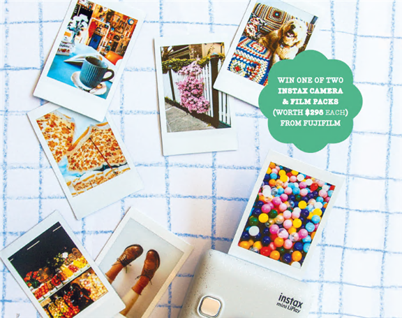 SUBSCRIBE FOR YOUR CHANCE TO WIN 1 OF 2 INSTAX PRIZE PACKS!