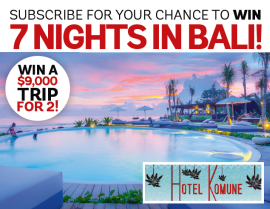 Subscribe to Popular Science for a chance to WIN a trip to Bali!