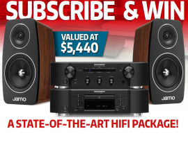 Subscribe for a chance to win a state-of-the-art hifi package!