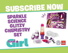 SUBSCRIBE NOW AND RECEIVE A FREE SPARKLE SCIENCE  CHEMISTRY SET!