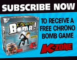 SUBSCRIBE NOW  & RECEIVE A FREE CHRONO BOMB GAME!