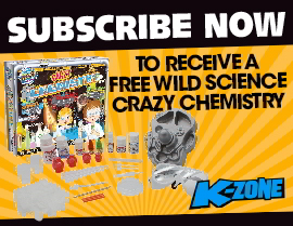 SUBSCRIBE NOW & GET A FREE WILD SCIENCE CRAZY CHEMISTRY SET!