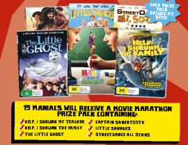 SUBSCRIBE NOW & YOU COULD WIN A MOVIE MARATHON DVD PACK!