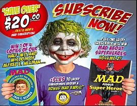 SUBSCRIBE NOW FOR A CHANCE TO WIN A WICKED MAD PRIZE!