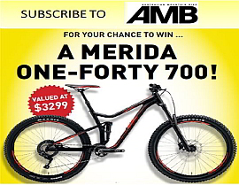 SUBSCRIBE NOW FOR YOUR CHANCE TO WIN A MERIDA ONE-FORTY 700!
