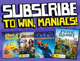 SUBSCRIBE NOW FOR A CHANCE TO WIN DVD PRIZE PACK