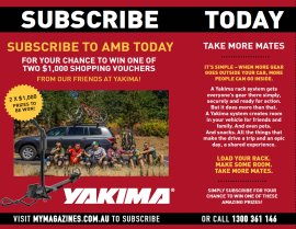 SUBSCRIBE NOW FOR A CHANCE TO WIN ONE OF TWO YAKIMA VOUCHERS!