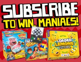 SUBSCRIBE NOW FOR A CHANCE TO WIN A BOARD GAME PACK!