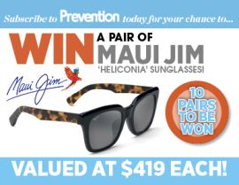 SUBSCRIBE NOW FOR YOUR CHANCE TO WIN A PAIR OF MAUI JIM SUNGLASSES!