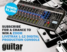 SUBSCRIBE FOR YOUR CHANCE TO WIN A ZOOM LIVETRAK CONSOLE!