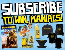 SUBSCRIBE FOR YOUR CHANCE TO WIN A BUMBLEBEE PRIZE PACK!
