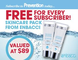 SUBSCRIBE AND RECEIVE A BONUS SKINCARE PACK FROM ENBACCI!