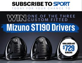 SUBSCRIBE FOR YOUR CHANCE TO WIN 1 OF 3 MIZUNO ST190 DRIVERS!