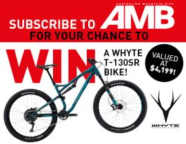 SUBSCRIBE FOR YOUR CHANCE TO WIN A WHYTE T-130SR BIKE!