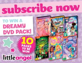 SUBSCRIBE NOW FOR YOUR CHANCE TO WIN A DREAMY DVD PACK!
