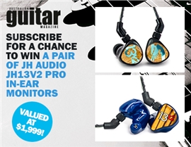 SUBSCRIBE FOR YOUR CHANCE TO WIN A PAIR OF JH AUDIO PRO MONITORS