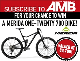 SUBSCRIBE TO AMB FOR YOUR CHANCE TO WIN A MERIDA ONE-TWENTY 700 BIKE