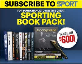 SUBSCRIBE FOR YOUR CHANCE TO WIN THE ULTIMATE SPORTING BOOK PACK!