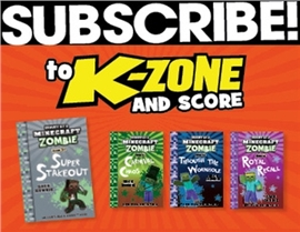 SUBSCRIBE AND RECEIVE A FREE DIARY OF A MINECRAFT ZOMBIE BOOK PACK!
