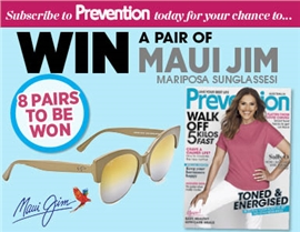 SUBSCRIBE FOR YOUR CHANCE TO WIN A PAIR OF MAUI JIM SUNGLASSES