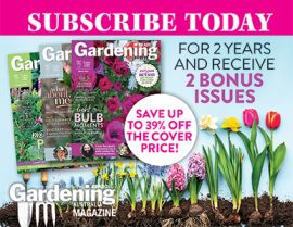 SUBSCRIBE TO GARDENING AUSTRALIA AND RECEIVE BONUS ISSUES!