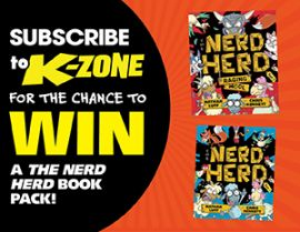 SUBSCRIBE FOR YOUR CHANCE TO WIN 1 OF 80 BOOK PACKS!