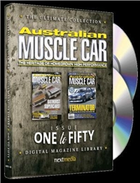 The Ultimate Australian Muscle Car DVD Collection - Issue One to Fifty