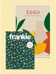 frankie magazine subscription + 2020 calendar